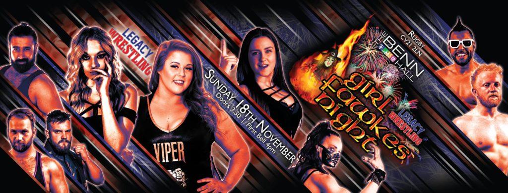Legacy Wrestling poster